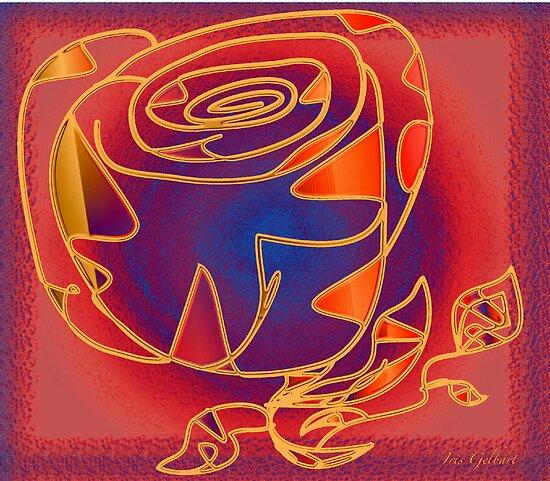 Just a paper Rose....... by IrisGelbart