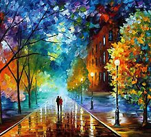 FRESHNESS OF COLD - OIL PAINTING BY LEONID AFREMOV by Leonid  Afremov