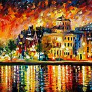 COPENHAGEN - OIL PAINTING BY LEONID AFREMOV by Leonid  Afremov