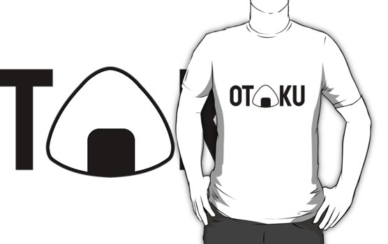OTAKU onigiri black version by karlangas