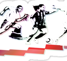 Evolution of Modern Football Sticker