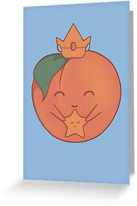 A Peachy Princess by perdita00