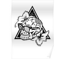 Aztec Skull  Poster