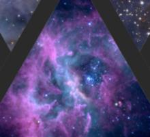4 triangles t-shirt or sticker Sticker