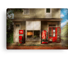 Store Front - Waterford, Va - Waterford market  Canvas Print