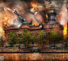 Steampunk - The war has begun by Mike  Savad