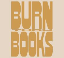 BURN (thru) BOOKS by Frankenstylin