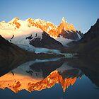 Reflecting on a Mountain by Kenji Ashman