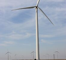 Giant Windmills in the SKY by ROBERTDBROZEK