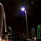 The New Dallas Skyline by Rafiul Alam