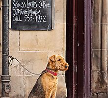 Waiting On Lunch by Lynne Morris