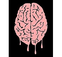Brain melt - vector illustration of melting brain! Photographic Print