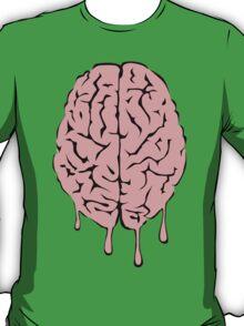 Brain melt - vector illustration of melting brain! T-Shirt