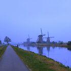 Kinderdijk windmills by Peet de Rouw