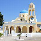 Church, Oia, Santorini, Greece Islands by Carole-Anne