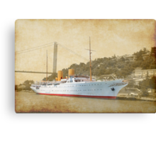 the old liner Canvas Print
