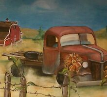 Old Truck by shoenfelt