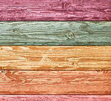 Color wooden wall by homydesign
