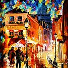 PARIS - MONTMARTRE - OIL PAINTING BY LEONID AFREMOV by Leonid  Afremov