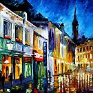 THE DREAM OF THE SOUL - OIL PAINTING BY LEONID AFREMOV by Leonid  Afremov