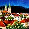 GERMANY FREIBURG - OIL PAINTNG BY LEONID AFREMOV by Leonid  Afremov