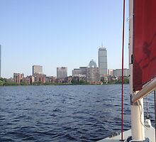 Sailing in Boston by Arthur Sturdevant