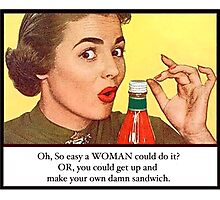 Sandwich Photographic Print