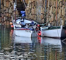 In The Early Morning Light-Mousehole Harbour,Cornwall.UK by lynn carter