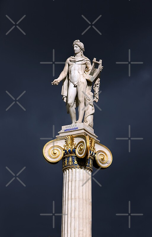 Greek God Of Music Apollo Iphone Cases Skins By