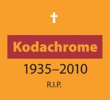 R.I.P. Kodachrome by Robin Lund