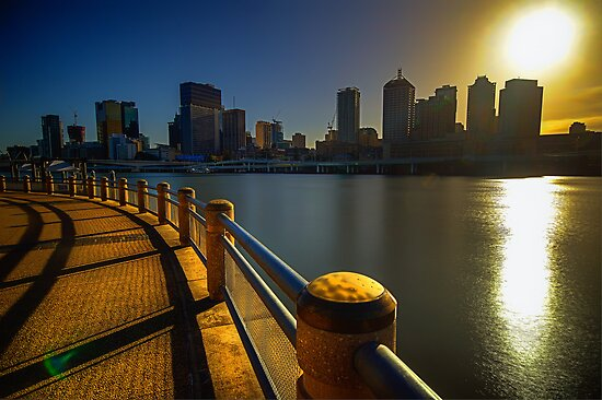 Southbank Sunrise by Tracie Louise