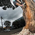 Rowan Williamson, tree ride to fakie. by Luke Carl Thompson