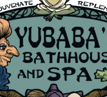 The Bathhouse Sticker