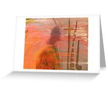 GERONIMO  NATIVE AMERICAN CHIEF...BROKEN PROMISES Greeting Card
