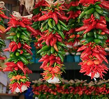 Chile peppers by Turtle6