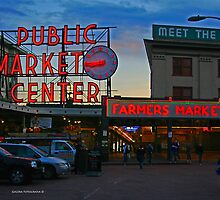 Pike`s Public Market by Turtle6