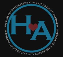 Hiddles' Army Logo by Lindsey Qualls
