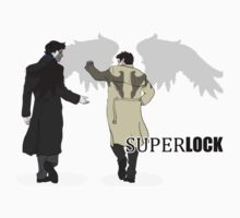 Sherlock and Castiel - SuperLock Kids Clothes