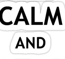 Keep Calm and Avenge Severus Sticker