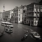 Venice Rush Hour by Imre Krénn