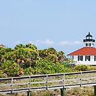 Port Boca Grande Light by Ticker