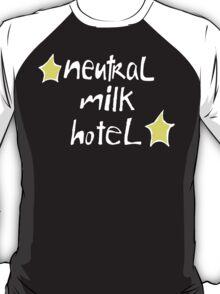 Neutral Milk Hotel (Everything Is) - White on Black Version T-Shirt