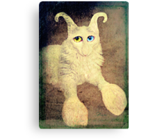 Nobody loves me because I have a big nose, but I do have beautiful eyes. Canvas Print