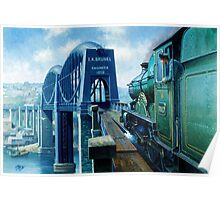 Brunel's Saltash bridge. Poster