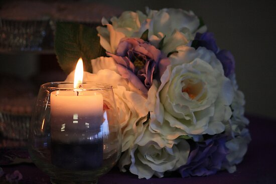 Wedding Candle by aussiebushstick