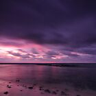 Hot Pink - An evening at Trannies Beach by Karen Willshaw