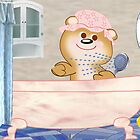 Teddy in the bath tub (2422 Views) by aldona