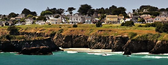 Mendocino by Barbara  Brown
