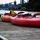 Urban Kayaks  by BonnieToll