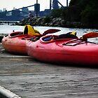 Urban Kayaks  by BonnieToll